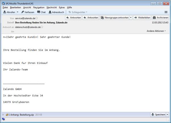 Eleven_Beispiel-E-Mail_Zalando-Bestellung