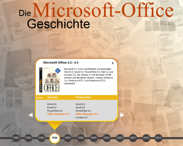 microsoft office hommage