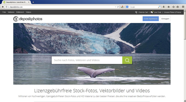 Depositphotos – tolle Bildquelle für Webmaster