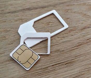 Die SIM-Karte passend machen